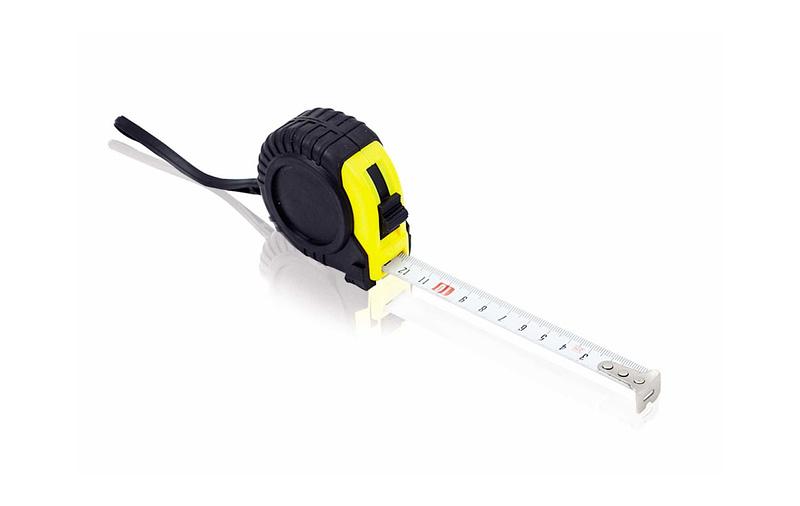 Flexómetro personalizado