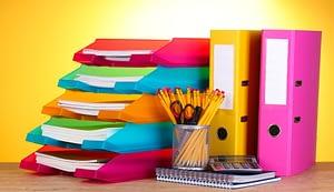 material de oficina que necesitas en tu oficina en casa