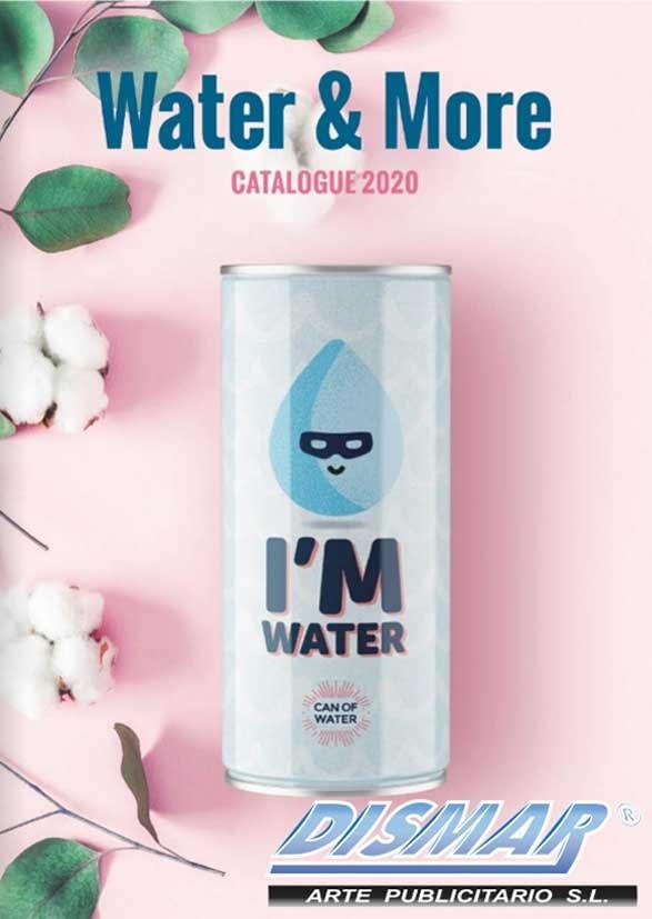 catalogo agua y bebidas energeticas personalizadas dismar