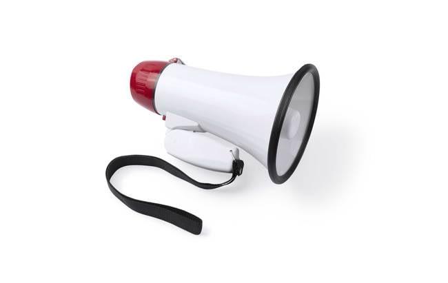 megafono personalizado