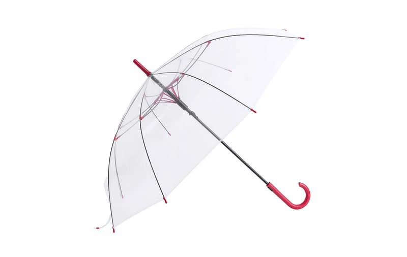 paraguas transparente personalizado
